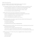 Short Story and Lit Terms Exam - Common Core Aligned