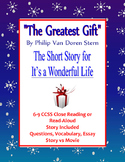 Holiday or Winter Short Story The Greatest Gift It's a Wonderful Life