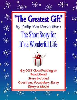 Holiday or Winter Short Story The Greatest Gift It's a Won