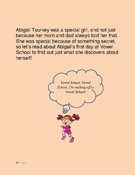Short Story teaching Long and Short Vowels