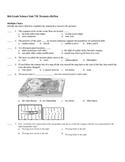 Short Test/Quiz over Tectonics, Cont Drift & Topo Maps