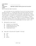 Short Text Homework