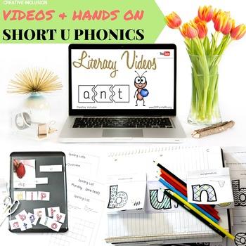 Short U Complete Phonics Spelling Kit for Multiple Learnin