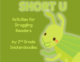 Short U: Activities for Struggling Readers