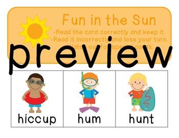 Short U: Activities for Struggling Readers