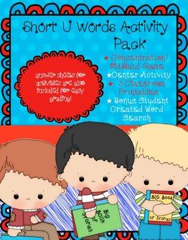 Short U Activity Pack