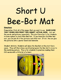 Short U Bee-Bot Mat