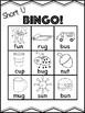 Short U Bingo [10 playing cards]