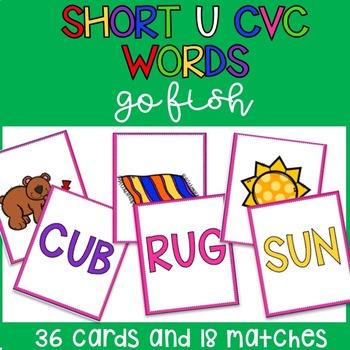 Short U CVC Go Fish