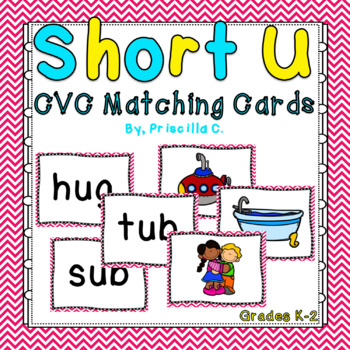 Short U CVC Matching Game