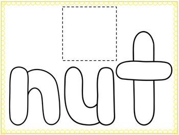Short U CVC Play-Doh Mats (3 versions)