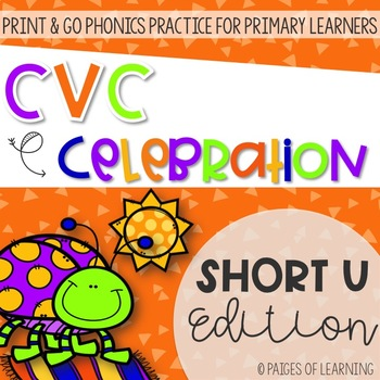 Short U CVC Print and GO!
