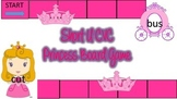 Short U CVC Printable Princess Game Pre-K, Kindergarden, 1st