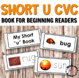 Short U CVC Printables - Book for Reading and Writing