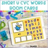 Short U CVC Word Boom Cards | Digital Literacy Activities