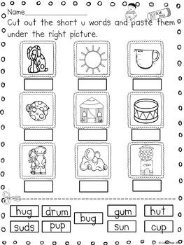 Short U - Character and Activities