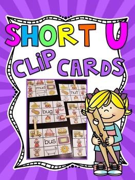 Short U Clip Cards Centers