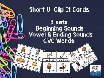 Short U Clip Cards