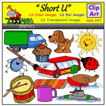Short U Clipart