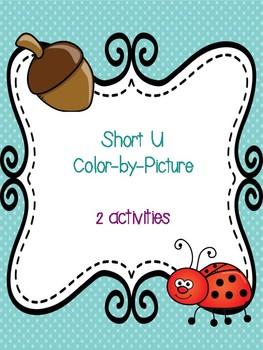 Short U Color-By-Picture