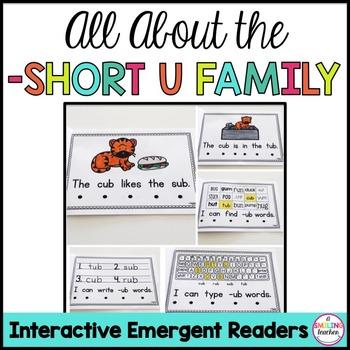 Short U Family Emergent Readers (Interactive)