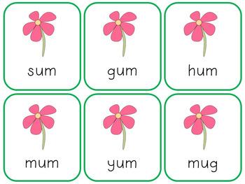 Short U Fluency Game! {Spring Theme}