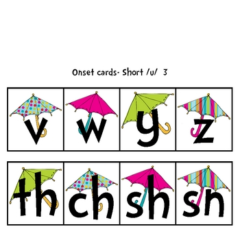 Short U Fun! Centers and Activities