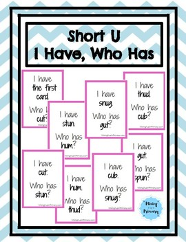 Short U - I Have, Who Has Game