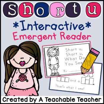 Short U Interactive Emergent Reader
