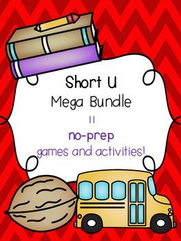 Short U Mega Bundle! [11 no-prep games and activities]