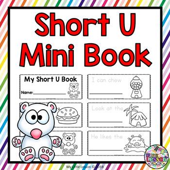 Short U Mini Book: Short Vowels