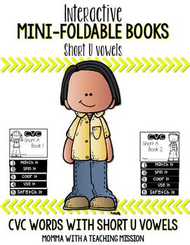 Short U Mini Flip Book Foldable