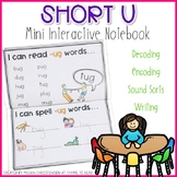 Short U Mini Interactive Notebook