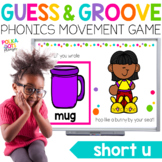 Short U Movement Game for Google (TM) and PowerPoint | Distance Learning