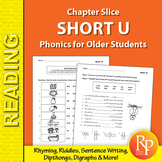 Short U: Phonics for Older Students