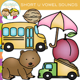Short U Vowel Clip Art