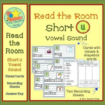 Alphabet Read the Room Short Vowel U