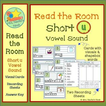 Read the Room Alphabet Short Vowel U