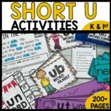 Short U Word Families | Worksheets | Center Activities