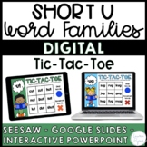 Short U Word Families Distance Learning Activities {Seesaw