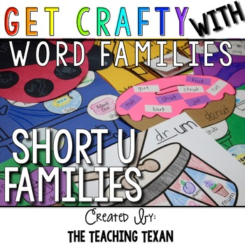 Short U Word Family Crafts