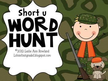 Short U Word Hunt
