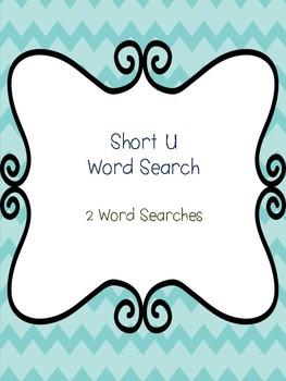 Short U Word Searches!