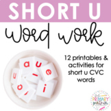 Short U Word Work