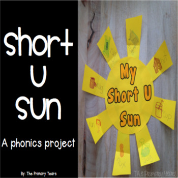 Short U Word Work Craftivity - A Phonics Project