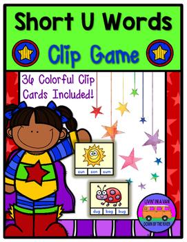 SHORT U Words - Clip Game