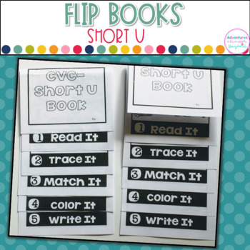 Short U Words- Flip Book