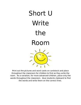 Short U- Write the Room