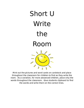 Short U- Write the Room
