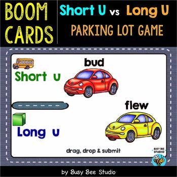 Short -U- or Long -U- Sorts | Boom Cards | Parking Lot Game